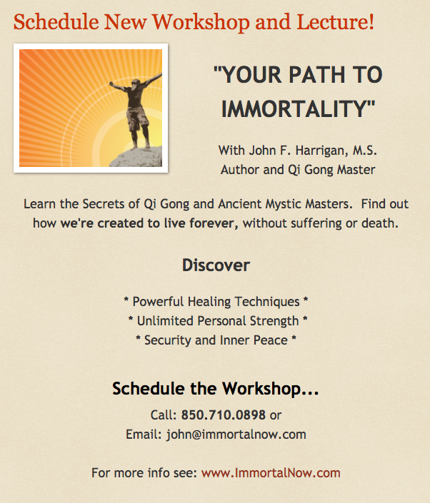 Immortality Workshop