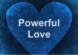 Powerful Love Heart Blue